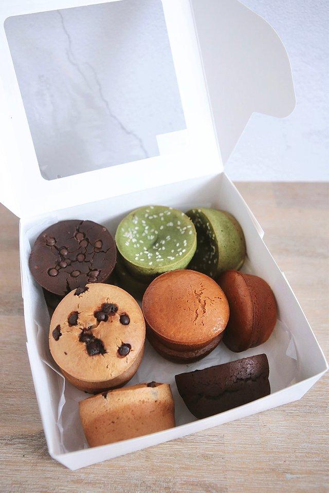 Box of 12 Original Mochi Muffins Assorted