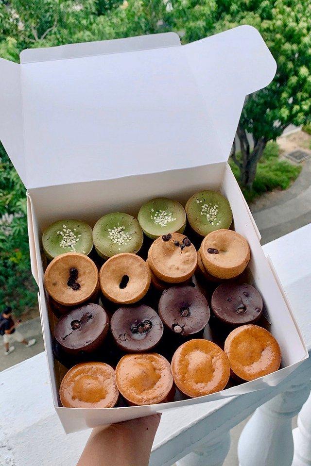 Box of 48 Mini Mochi Muffins Assorted