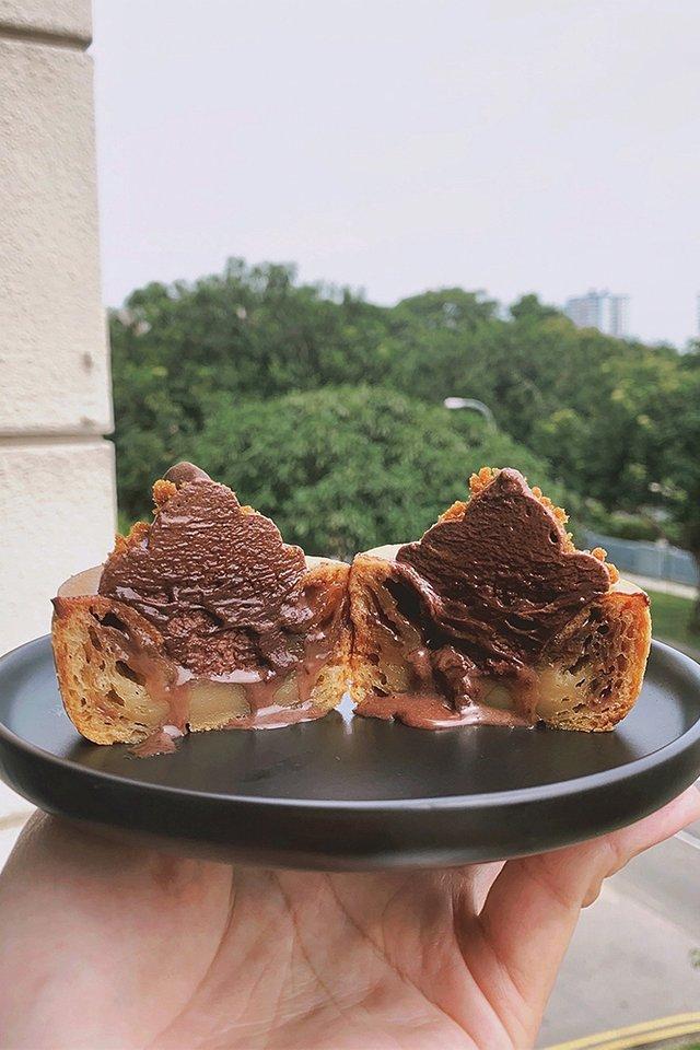 Milo Mochi Cupcake